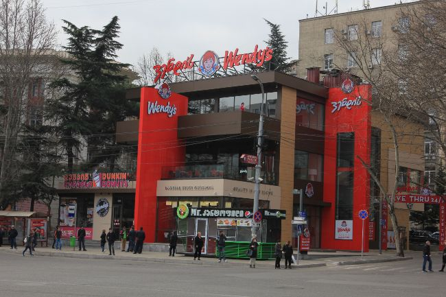 McWendy's et Dunkin Pizza King Tbilissi