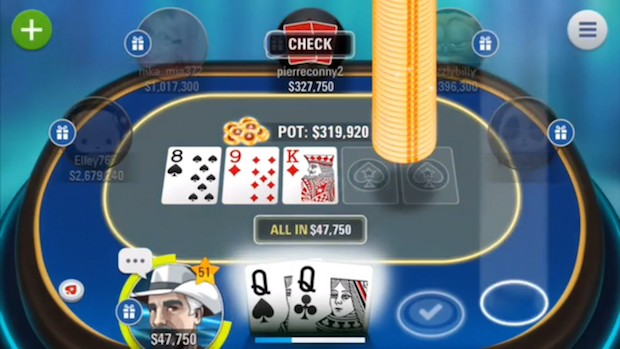 meilleures applis poker  iphone et android