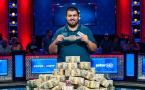 Scott Blumstein champion du monde Main Event WSOP 2017