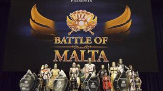 BOM Battle of Malta trophees