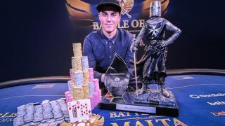 Robert Berglund vainqueur Battle of Malta 2016