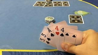 main de 5 card draw poker fermé à 5 cartes