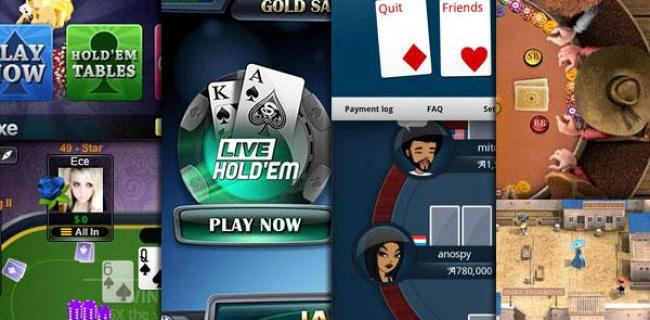 Les meilleures applications de poker sur Android de 2015