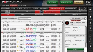 Lobby PokerStars.fr