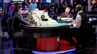Heads-up du Main Event des WSOP 2015.