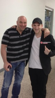 Dana White et Jason Somerville