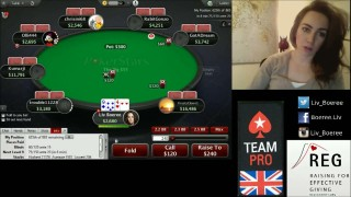 Liv Boeree sur Twitch