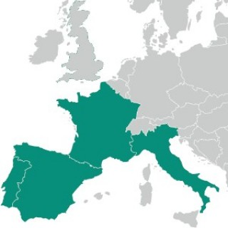 France Espagne Portugal Italie