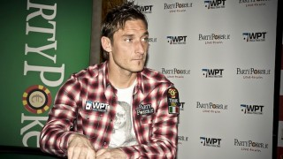 Francesco Totti et Party Poker
