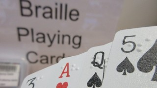 Cartes a jouer en braille
