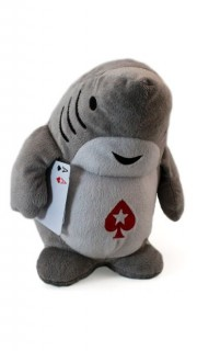 Peluche requin PokerStars