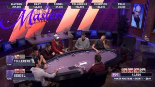 Poker Masters table