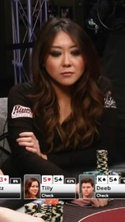 Maria Ho dans l'émission TV poker Night in America
