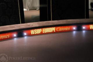 table WSOP Europe Cannes