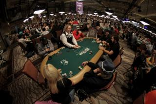 WSOP Main Event caméra Fisheye
