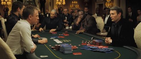 partie de poker Casino Royale