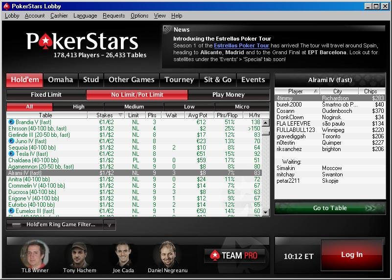 pokerstars.net roulette