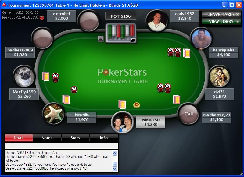 cash poker games online