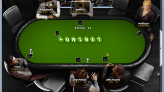 Unibet.fr Poker : À la Table
