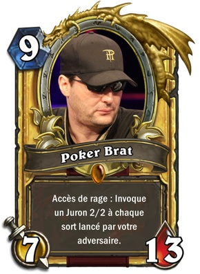 Carte Hearthstone Poker Brat