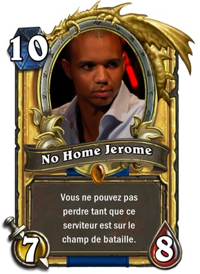 Carte Hearthstone No home Jerome Ivey