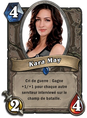 Carte Hearthstone Kara Scott