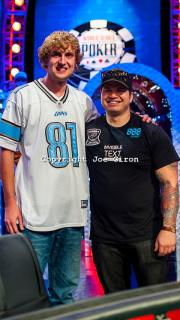 Final Two Ryan Riess Jay Farber 2013 WSOP S10K Main Event Final Table Giron 7JG9604