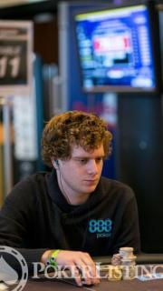 Sam Holden2013 WSOP EuropeEV0710K NLH Main EventDay 3Giron8JG2467
