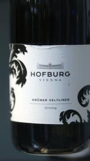 hofburg wine label