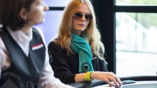 Patty BabyTes Beaumier2013 WSOP EuropeEV021K Re entryDay 1AGiron8JG8553