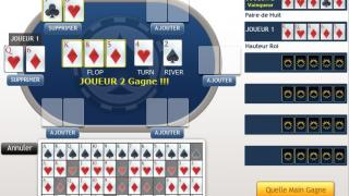 Outil de poker et calculatrice