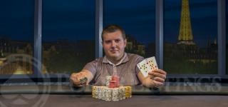 WSOP Bracelet Winner Darko Stojanovic2013 WSOP EuropeEV035K Mixed MaxFinal TableGiron8JG3