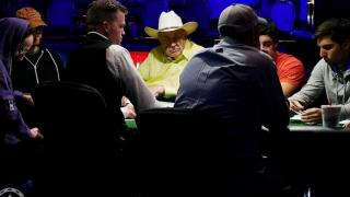 1001 Doyle Brunson at Featured Table