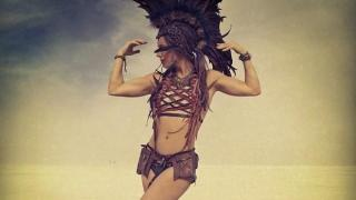 liv boeree burning man