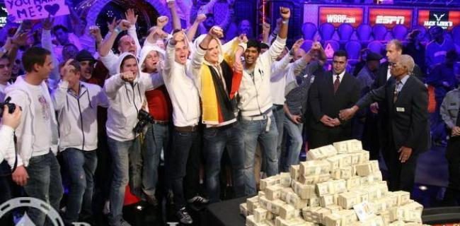 Album Photos de la Table Finale des WSOP