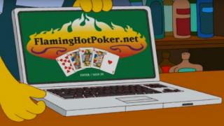 TheSimpsons FlamingHotPoker